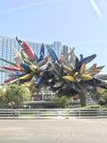 Las Vegas-Skulptur Lizenzfreie Stockfotografie