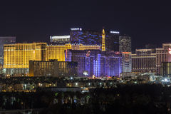 Las Vegas Skyline Cityscape Royalty Free Stock Photography