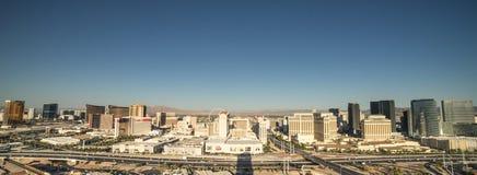 Las Vegas Skyline Panarama Stock Images