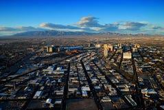 Las Vegas skyline panorama Stock Image