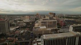 Las Vegas Skyline Time Lapse stock video