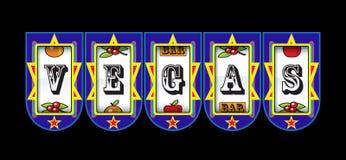 Las Vegas slot machine Royalty Free Stock Image