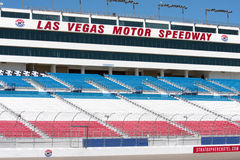 Las Vegas Speedway Grandstand Royalty Free Stock Photography