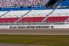 Las Vegas Speedway Grandstands royalty free stock image