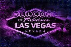 Las Vegas-Spiel-Konzept Lizenzfreie Stockfotografie