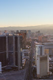 Las Vegas from the Statosphere Stock Photo