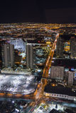 Las Vegas from the Statosphere Royalty Free Stock Image