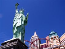 Las Vegas Statue of Liberty 2. Image of the Statue of Liberty replica on the Vegas strip in Las Vegas, Nevada Stock Images