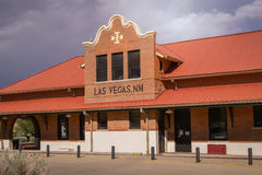 Las Vegas storico New Mexico Fotografie Stock