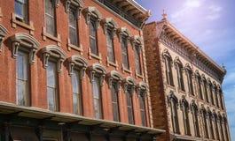 Las Vegas storico New Mexico Immagini Stock Libere da Diritti