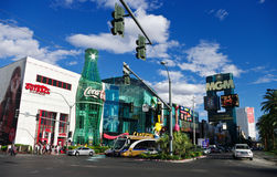 Las Vegas street Royalty Free Stock Image