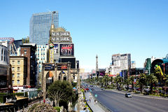 Las Vegas Street Scene Royalty Free Stock Photo