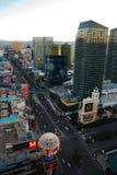 Las Vegas Street view Stock Photography