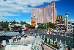 Las Vegas street view Royalty Free Stock Images