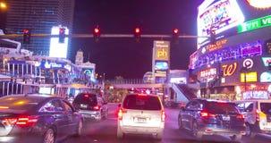 Las Vegas-Streifen timelapse stock footage