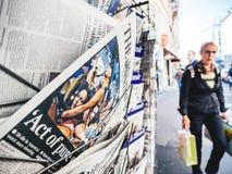 Las Vegas-Streifenschießenzeitung Timesleute 2017 Lizenzfreie Stockfotos