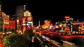 Las Vegas Strip, Ηνωμένες Πολιτείες στοκ εικόνα με δικαίωμα ελεύθερης χρήσης