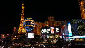 Las Vegas Strip στη Νεβάδα Στοκ φωτογραφία με δικαίωμα ελεύθερης χρήσης