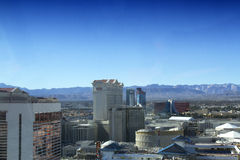 Las Vegas Strip from Atop the High Roller Stock Image