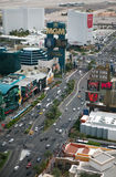 Las Vegas Strip at daytime Stock Photos