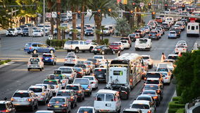 The Las Vegas Strip Daytime stock video