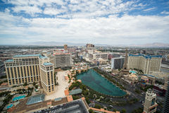 Las Vegas strip daytime wide view Stock Photo