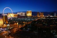 Las Vegas Strip Dusk Stock Photos