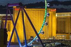 Las Vegas Strip Ferris Wheel Detail Royalty Free Stock Photos