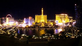 Las Vegas Strip Hotels & Casinos (Night - Editorial)