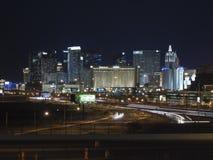 Las Vegas Strip and I15 Royalty Free Stock Photos
