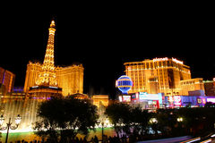 Las Vegas Strip Lights Royalty Free Stock Images
