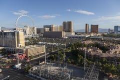 Las Vegas Strip Morning View Royalty Free Stock Image