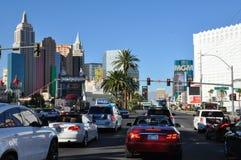 Las Vegas Strip in Nevada Royalty Free Stock Photo