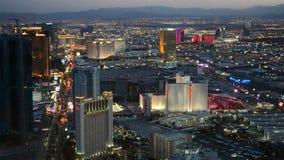 Las Vegas Strip, Nevada, USA, stock footage