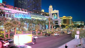 Las Vegas Strip, Nevada, USA, stock video