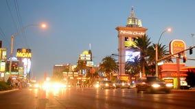 Las Vegas Strip, Nevada, USA, stock video footage