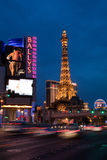Las Vegas Strip at Night Stock Photography
