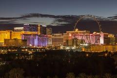 Las Vegas Strip Night Royalty Free Stock Image