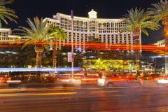 Las Vegas strip at night. Royalty Free Stock Image