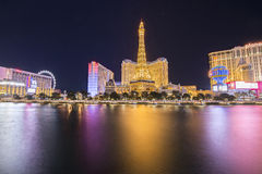 The Las Vegas strip Royalty Free Stock Image