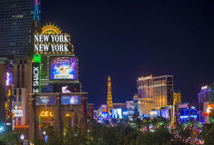 Las Vegas strip Stock Image