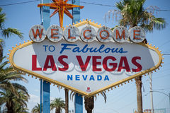 Las Vegas strip sign stock photos