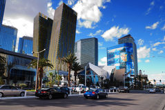 Las Vegas Strip street view Stock Images