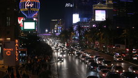 Las Vegas Strip Traffic Jam Stock Images