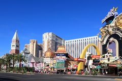 Las Vegas Strip Royalty Free Stock Images