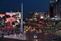 Las Vegas Strip Royalty Free Stock Image