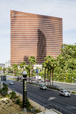 Las Vegas Strip view and wynn encore hotel and cas Royalty Free Stock Image