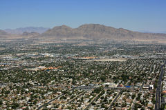 Las Vegas suburbs Stock Images