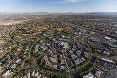 Las Vegas Summerlin Nevada Aerial Royaltyfri Fotografi
