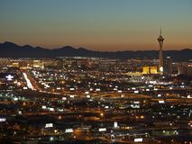 Las Vegas Sunrise Stock Photography